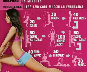 exercise, legs, and sexy image