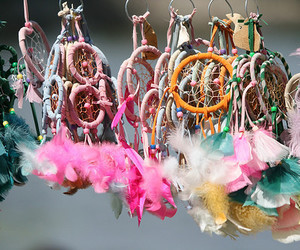 dream catcher, colorful, and Dream image
