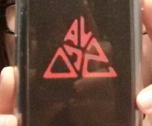 black, smartphone, and cover image