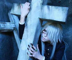 cosplay, undertaker, and black butler image