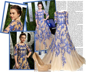 lily collins, vanity fair hotties, and notorious magazine image
