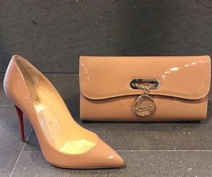 louboutins, luxe, and shoes image