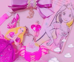 disney, kawaii, and pink image