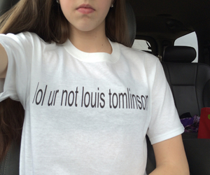louis, t-shirt, and tumblr image