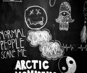nirvana and arctic monkeys image