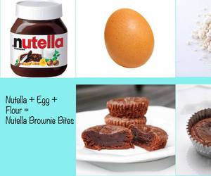 diy, nutella, and egg image