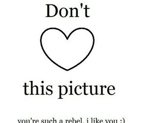 heart, rebel, and funny image
