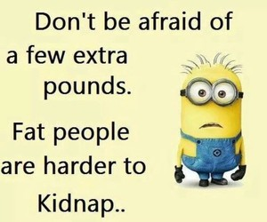 minions, funny, and fat image