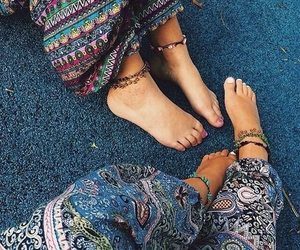 hippie, boho, and summer image