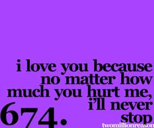 i love you because image
