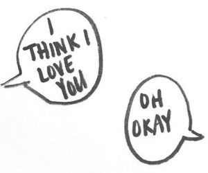love, text, and okay image