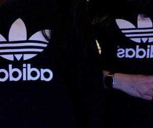 adidas, black, and girl image