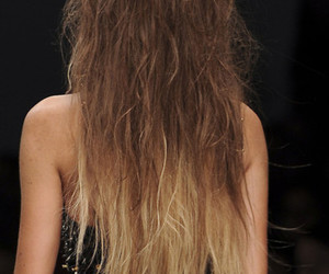 hair, model, and ombre image