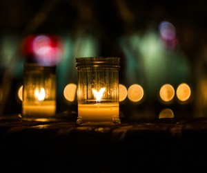 beautiful, candle, and light image