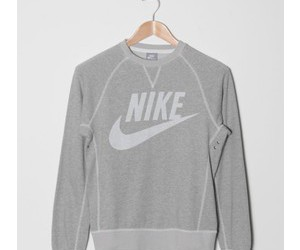 grey, nike, and sport image