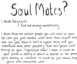 love, soul mate, and quotes image