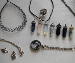 grunge, choker, and necklace image