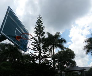 Basketball, morning, and ring image