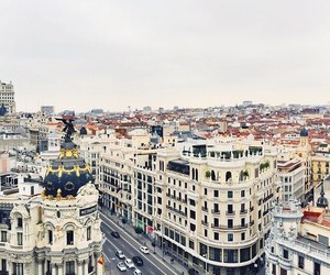 beautiful places, madrid, and travel image
