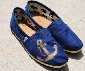 anchor, shoes, and toms image