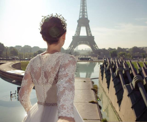 dress, happy day, and paris image