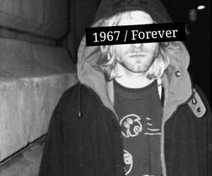 nirvana, cobain, and forever image