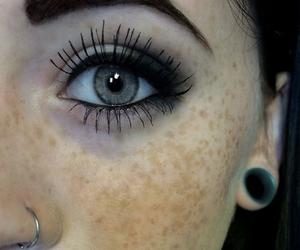 eyes, piercing, and eye image