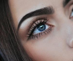 beautiful, eyes, and model image