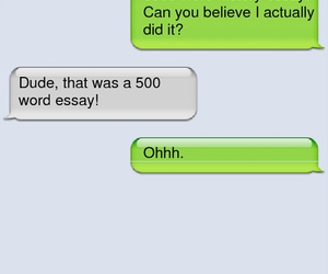 500, essay, and fun image