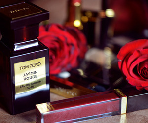 perfume, rose, and tom ford image