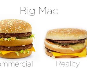 big mac, commercial, and food image