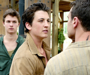 insurgent, caleb, and four image