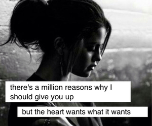 selena gomez, black and white, and Lyrics image