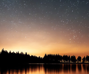 stars, nature, and wallpaper image
