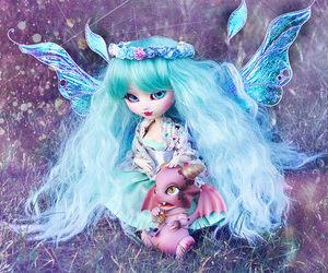 doll, magic, and pullip image