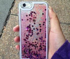 case, iphone, and stars image