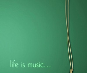 music, life, and heart image