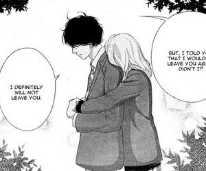 manga, couple, and ao haru ride image