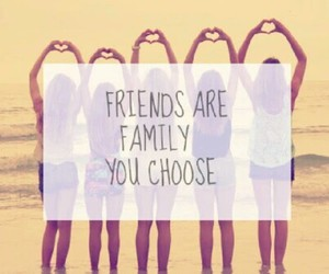 best friends, family, and friendship image