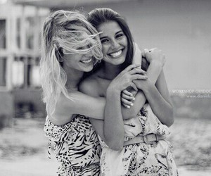 girl, friends, and smile image