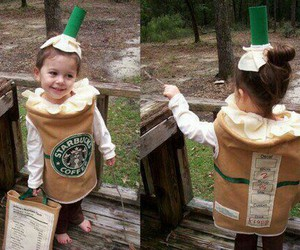 starbucks, cute, and costume image