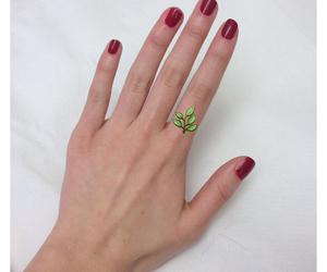 bones, hand, and manicure image