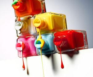 nail polish, colors, and photography image