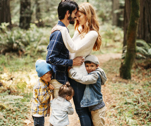 beautiful, couple, and family image