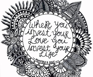 love, life, and quote image