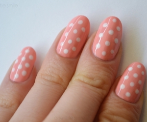 dots, nail art, and nail polish image
