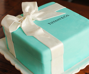 cake, tiffany, and tiffany & co image