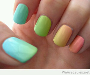 colurs and nails image