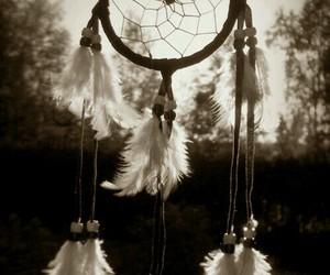 black and white, Dream, and acchiappasogni image