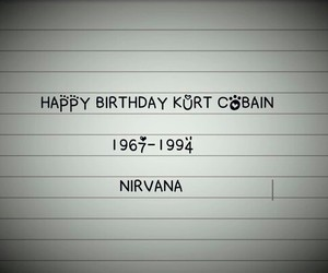 indie, kurt cobain, and nirvana image